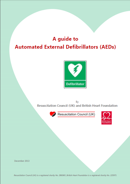 A guide to Automated External Defibrillators (AEDs)