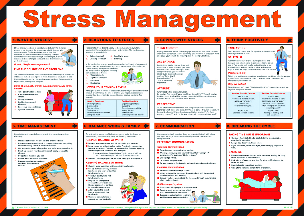 stress management in education institutions Leadership and management of health and safety in higher education institutions guidance for occupational health in he institutions ucea stress management.