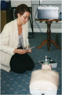 First Aid Instructor Study and Training Evaluation Days