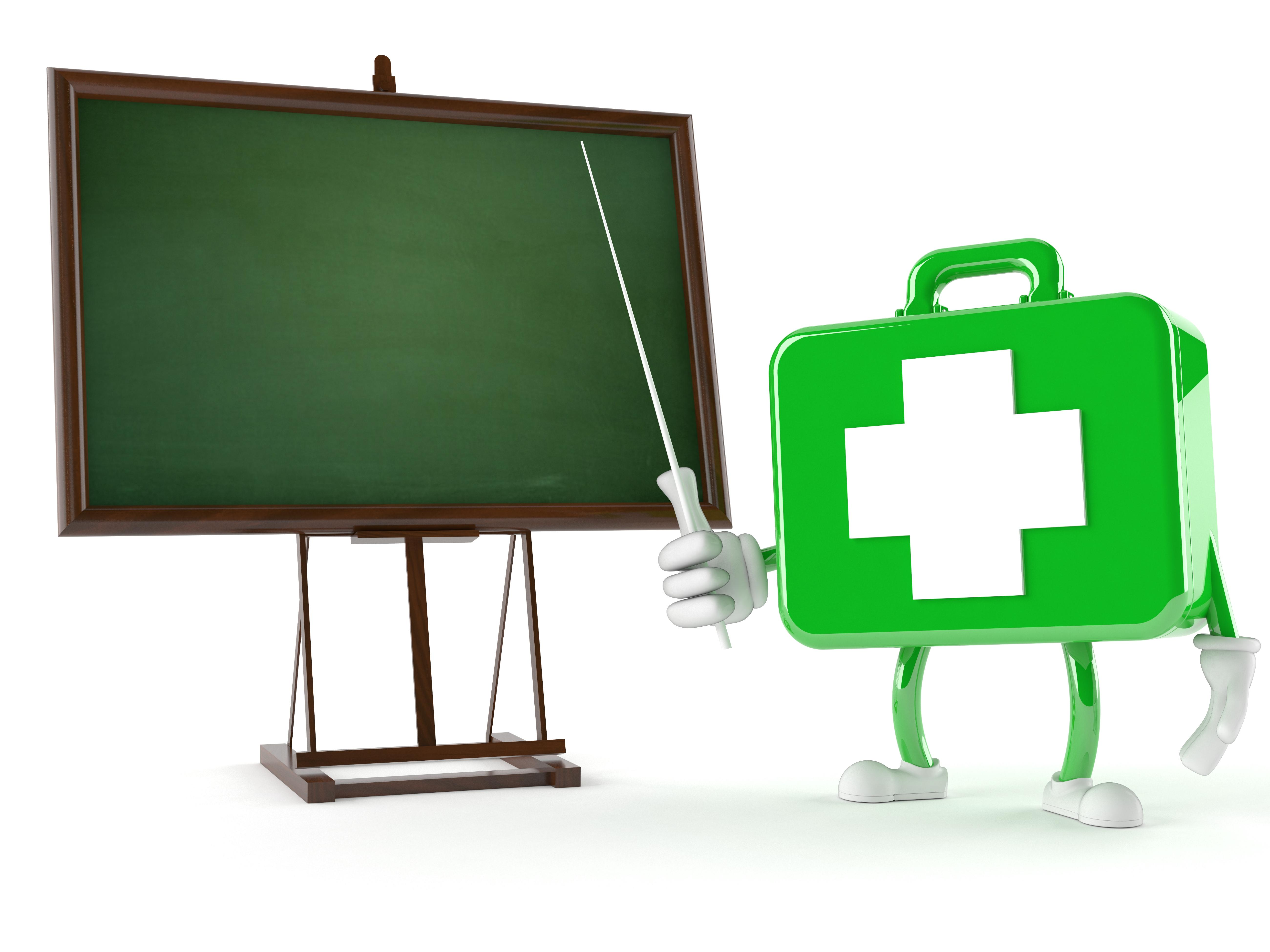 Adult and Paediatric First Aid Instructor