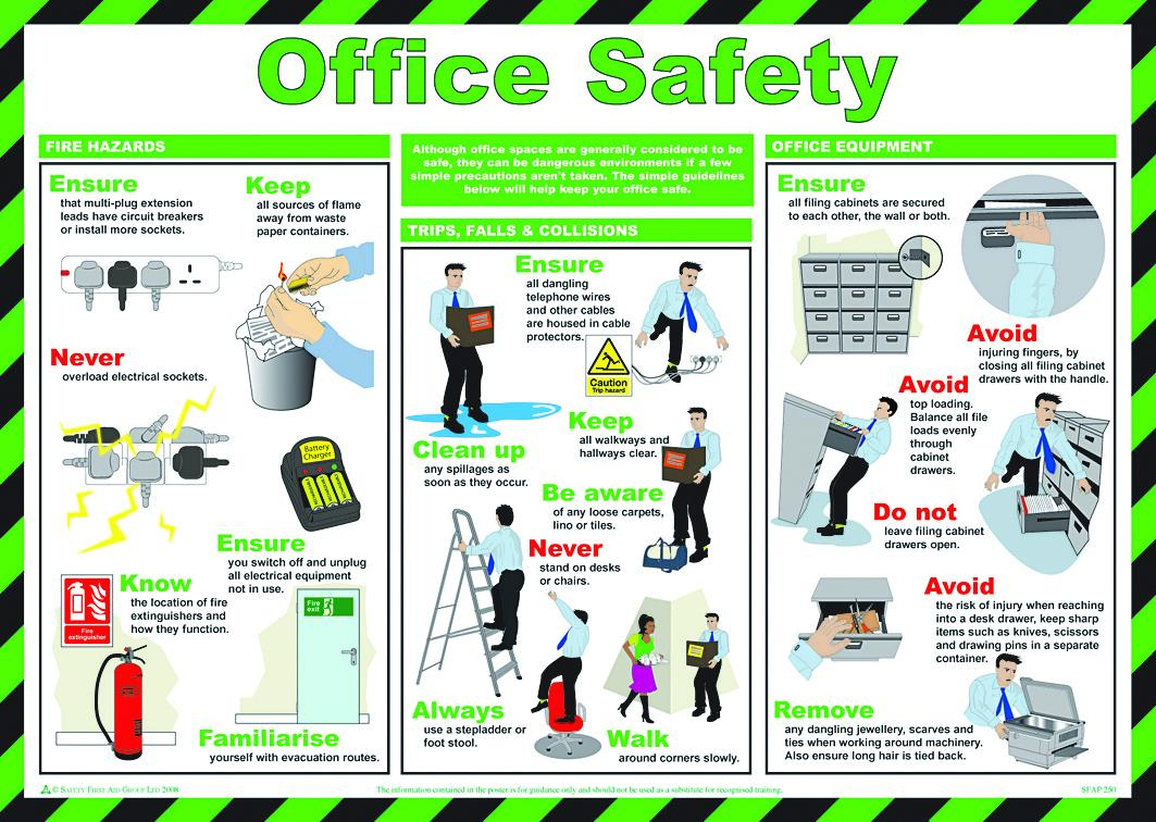 posters for office. Safety \u0026 Prevention Posters - Office For